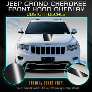 For 2011 2019 Jeep Grand Cherokee Front Hood Graphic Vinyl Decal Glossy Matte