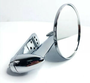 Chrome Exterior Rear View Side Mirror 1953 1966 Ford F100 F250
