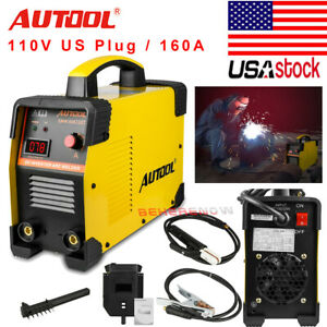 Welder Machine 110v Igbt Mma Arc Inverter Welding Machine Digital Display Lcd