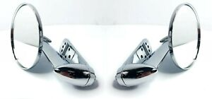 Pair Exterior Rear View Side Mirrors For 1953 1966 Ford F100 F250 F350 Truck