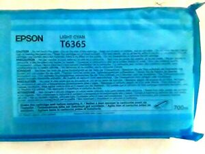 Genuine Epson T6365 Light Cyan Ink Cartridge Factory Sealed Guaranteed