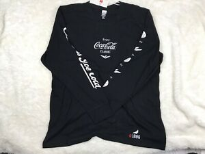 Staple Pigeon x Coca Cola Catch The Wave Long Sleeve Tee 2XL Black Brand New