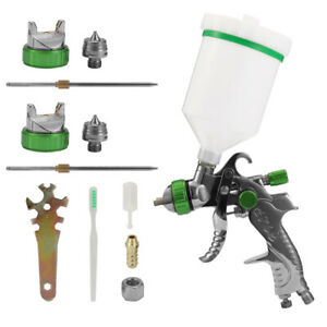 1 4 1 7mm 2mm Anest Iwata Air Spray Gun W 101 Gravity Feed Paint Kit Tool Hvlp