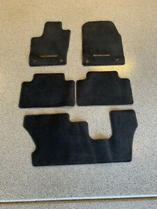 2014 Dodge Durango Oem Black Floormats