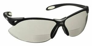 Honeywell Uvex Gray Scratch resistant Bifocal Safety Reading Glasses 1 5