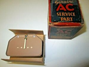 1940 40 Chevrolet Ammeter Ac 1500290 Special Deluxe Master Deluxe Nos