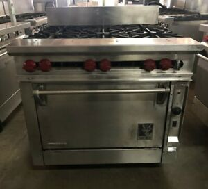 Wolf 36 6 Burner Range With Convection Oven