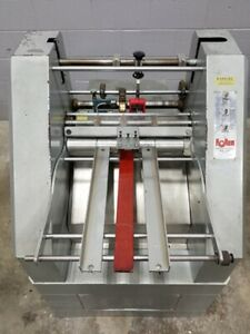 Rollum Auto 4 Scoring Perforating Numbering Slitting