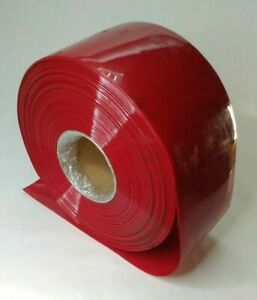 Vinyl Curtain Red 8 Wide 072 Thick 150ft Roll