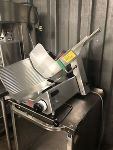 Bizerba Meat Slicer With Light Up Handle M 17