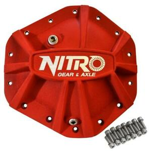 Gm 10 5 14 Bolt Differential Covers Truck 14t Red X treme Nitro Gear Axle