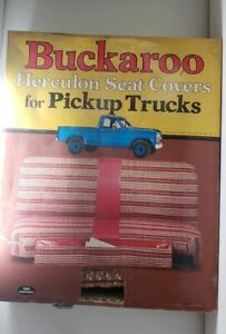 Vintage Pickup Truck Herculon Seat Cover Made By Buckaroo 70s 80s