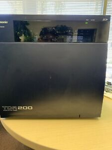 Panasonic Kx tda200 Hybrid Pbx With Cards And Free Voicemail