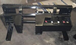 Heavy Duty Tree And Post Puller For Skid Steer Hydraulic