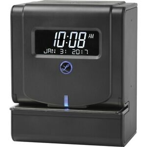 Lathem 2100hd Heavy Duty Thermal Print Time Clock Card Punch stamp Employees