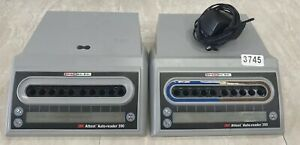 The 3m Attest Auto Reader 390 Lot Of 2 3745
