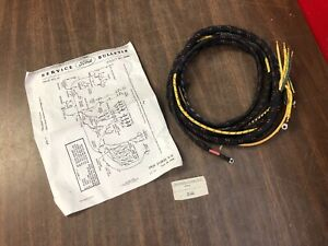 1939 Ford Pickup Truck Dash Cowl Wiring 91c 24401 a Nors 1019