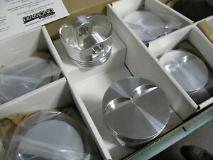 Chevy 305 Pistons Sbc Forged Diamond Custom Pistons Sprint Car