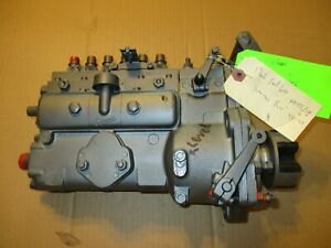 Rebuilt Ford 6000 Farm Tractor Diesel Injection Injector Pump Simms P4573