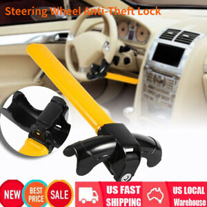 Universal Auto Car Rotary Steering Wheel Lock Truck Parts Anti Theft Security Us