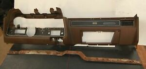 72 1972 Ford Gran Torino Sport Cj Original Dashboard Assembly Brown