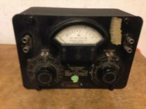 Vintage General Radio Co Audio Frequency Microvolter 546 0 Multiplier Output