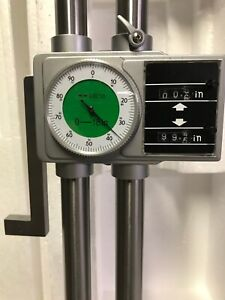 Dial Height Gage Double Column 18 With Digital Counter new