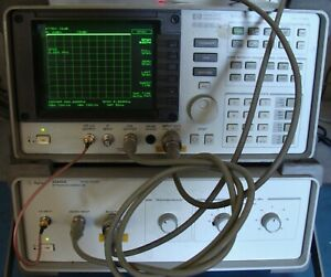Agilent Hp 85640a 300 Khz To 2 5 Ghz Rf Tracking Generator W cable Calibrated