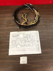 1941 1942 Ford Pickup V8 Truck And Commercial Cowl Dash Wiring Harness Nors 919