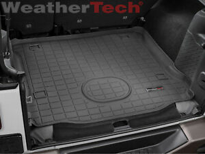 40745 Weathertech Cargo Liner Trunk Mat For Jeep Wrangler Unlimited 2015 2017