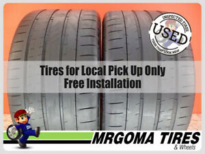 2 Michelin Pilot Super Sport Xl 295 30 20 Used Tires 66 Rmng Life 101y 2953020