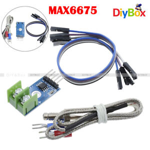 Max6675 Module With K Type Thermocouple Temperature Sensor For Arduino