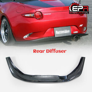 For Mazda Mx5 Nd5rc Miata Nd Cs Style Carbon Fiber Rear Diffuser Lip Bodykits