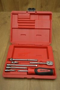 Snap on 1 4 Drive 7 Piece Expandable General Service Set In Carry Case