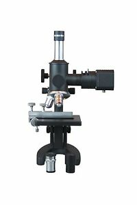 600x Metallurgical Material Laboratory Microscope W Reflected Light Xy Stage