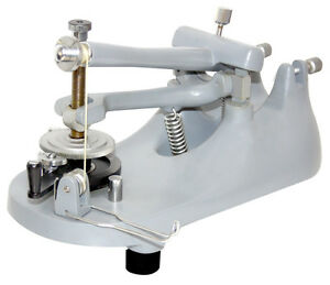 Rocking Cambridge Type Microtome For Microscope Sections W Razor Honing Stone