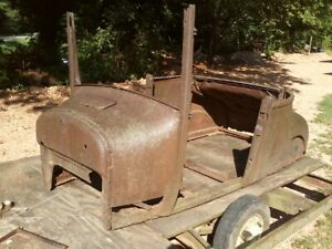 Model T Bucket Roadster Coupester Hot Rat Rod Ford 26 27