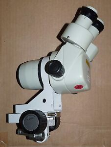 Nikon 10581275 Stereo Zoom Microscope With Focus Arm Mount Holder Attachment