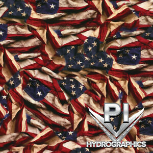 Hydrographic Dip Hydrographic Film Water Transfer Printing Respect Flag Ll739