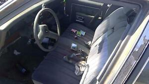 1990 Chevy Caprice Front Seat Gray Cloth Bench