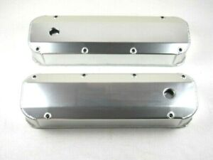 Big Block Ford 429 460 Fabricated Alum Valve Cover Set Clear Ano Bpe 2338ca