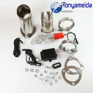 Electric Exhaust Catback Downpipe Cutout E Cut Out Valve System 2 5 63mm Mannal