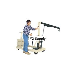 New Reversed Telescopic Boom Floor Crane B 500cw 500 Lb Capacity