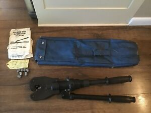 Anderson Vc6 Vc6 3d Versa crimp Manual Hydraulic Compression Tool Tested Works