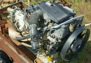 Chevy 06 Trailblazer 4 2l Inline 6 Engine transmission bad Trans