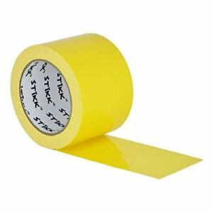 3 X 25 Yd 7 5 Mil Thick Yellow Duct Tape Pe Coated Weather Resistant 2 83 In 7