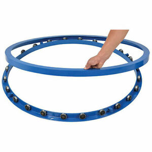 40 od Pallet Skid Carousel Turntable Rotating Ring 6000 Lb Capacity