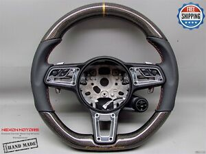 Porsche 991 Turbo Gt3 Macan Gts Cayman Cayenne Panamera Carbon Steering Wheel V2