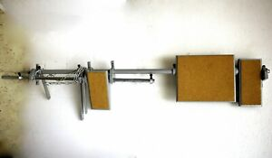 Pedal Bar For Adler 220 30 Long Arm Sewing Machine Table 3 Pedals Heavy Duty