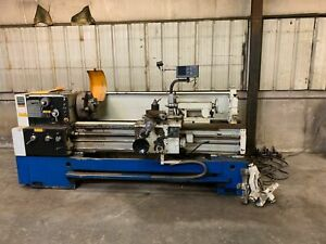 Summit 16 25 swing X 60 between Centers Gap Bed Engine Lathe W acu rite D r o